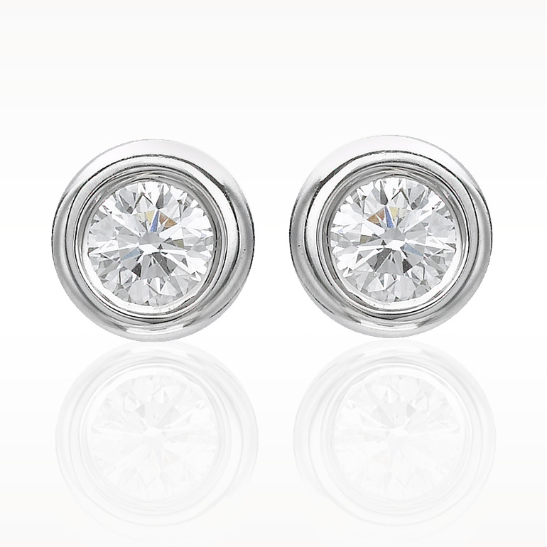 A 0.24ct total, Earrings, Love Diamonds Earrings 2d, Love Diamonds. You can buy online or reserve online and view in store at Lunn