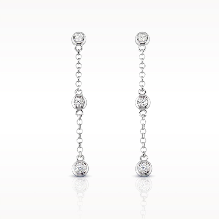 A 0.20ct total, Earrings, Love Diamonds Earrings 6d, Love Diamonds. You can buy online or reserve online and view in store at Lunn