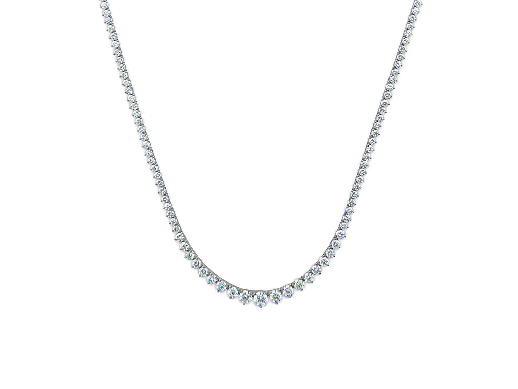 A 6.85ct total, Necklace, Eternal Necklace163D, Eternal. You can buy online or reserve online and view in store at Lunn