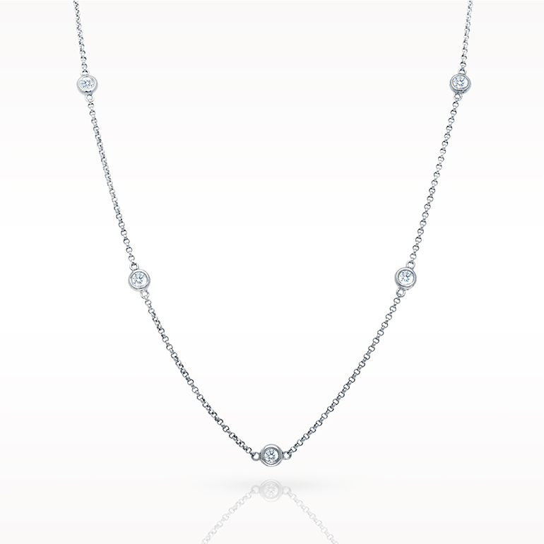 Total necklace love diamonds necklace 5d for Lindenwold fine jewelers jewelry showroom price