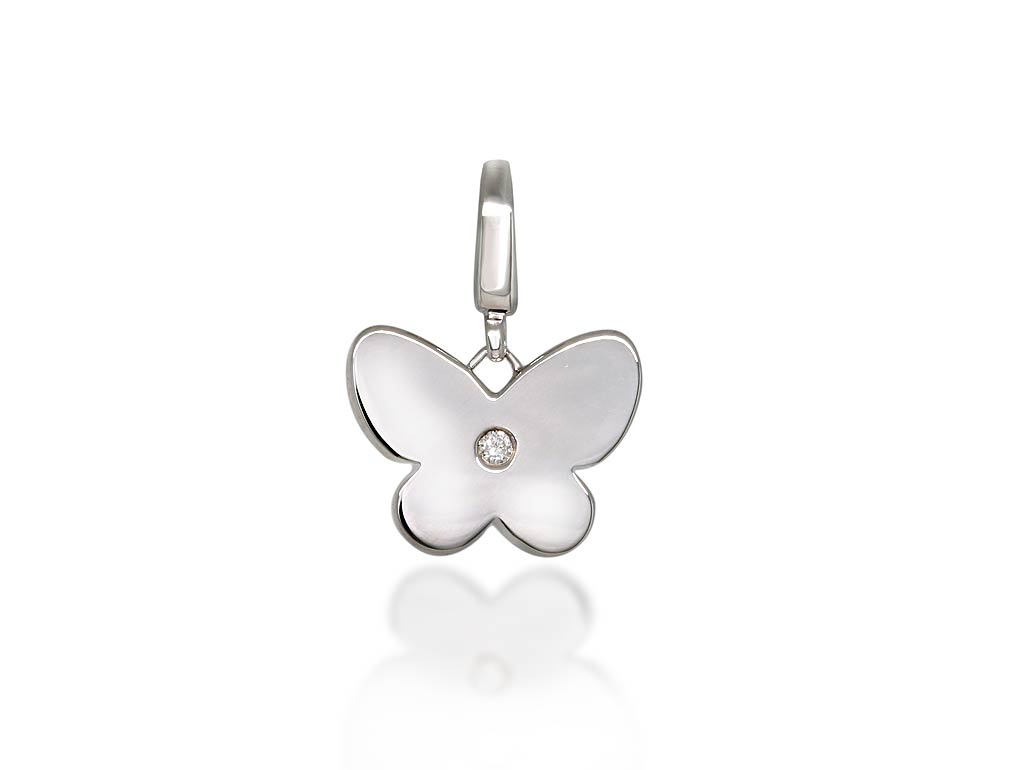 A 0.03ct, Charms, Love Diamonds  Butterfly, Charms. You can buy online or reserve online and view in store at Lunn
