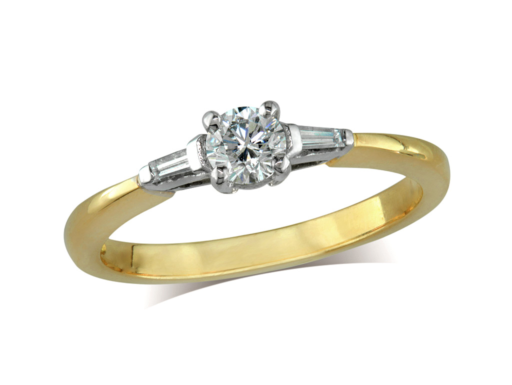 Centre brilliant f diamond shoulder ring for Lindenwold fine jewelers jewelry showroom price