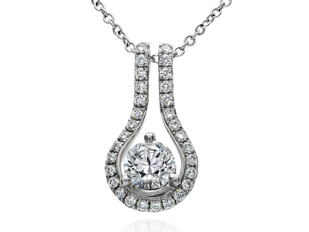 Centre necklace embrace necklace 1290040026 for Lindenwold fine jewelers jewelry showroom price