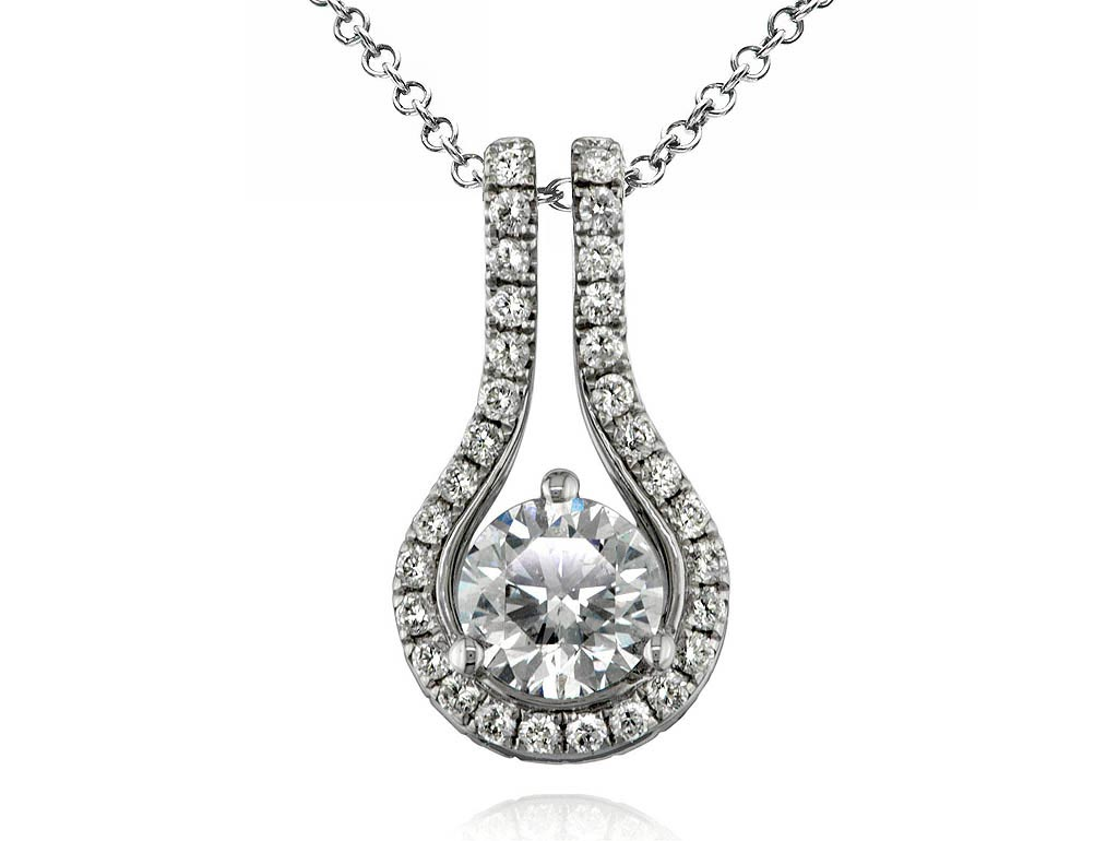 Centre necklace embrace necklace 1290030049 for Lindenwold fine jewelers jewelry showroom price