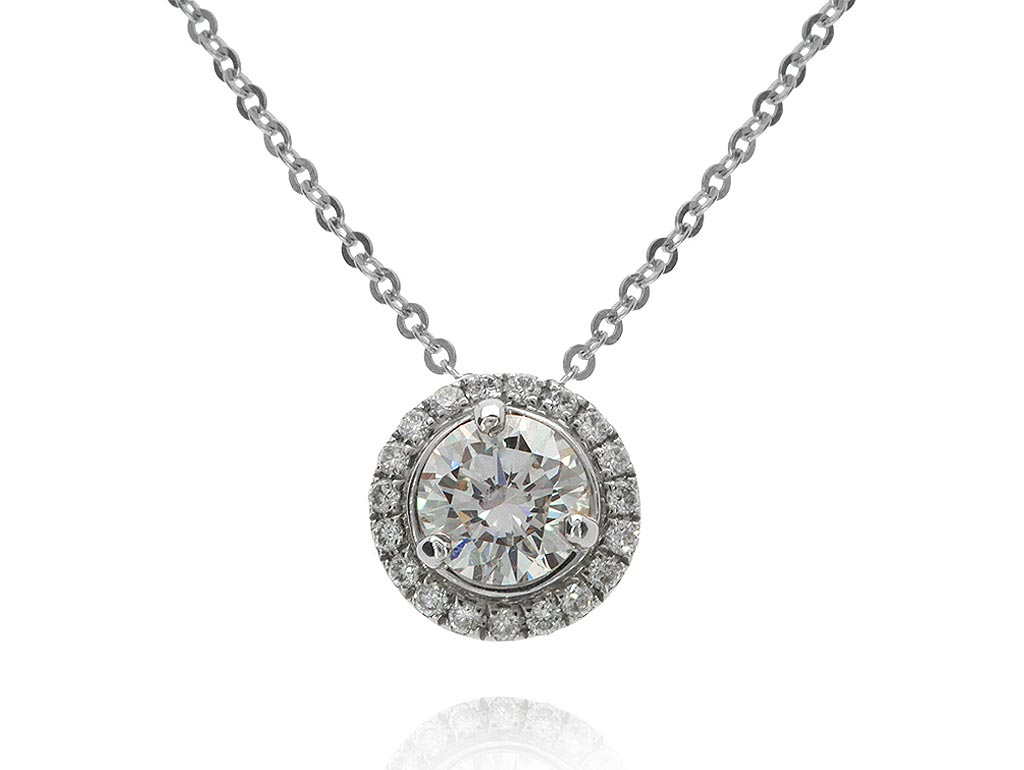 A 0.55ct centre, Necklace, Embrace Necklace 1290020076, Embrace. You can buy online or reserve online and view in store at Lunn
