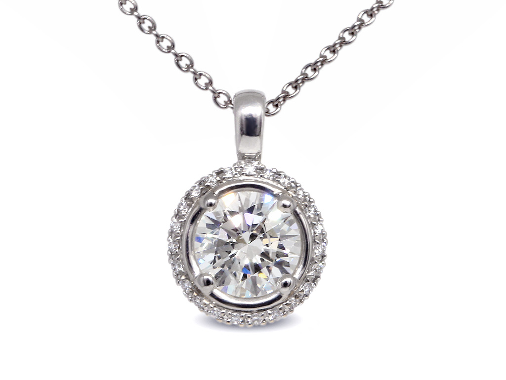 A 1.01ct centre, Necklace, Embrace Necklace 1290050031, Embrace. You can buy online or reserve online and view in store at Lunn