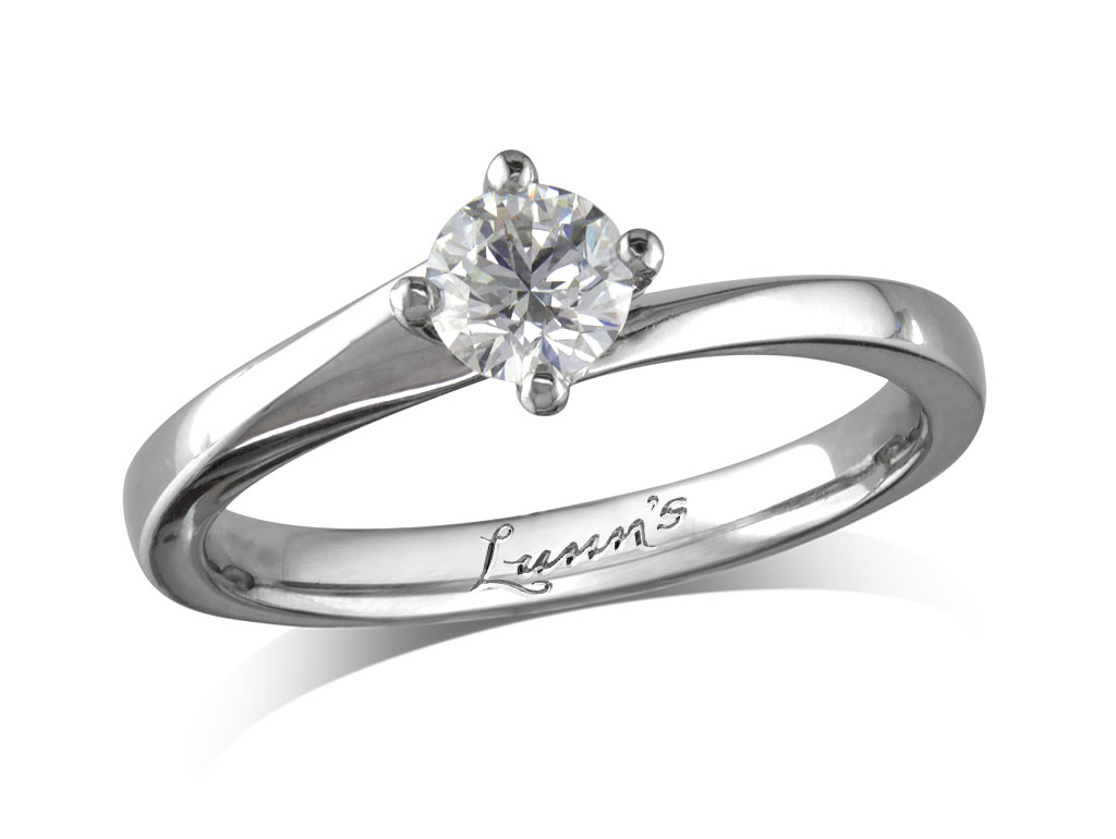 d341b8ced 0.40ct | Brilliant | G | Single stone diamond ring | Queens Arcade ...