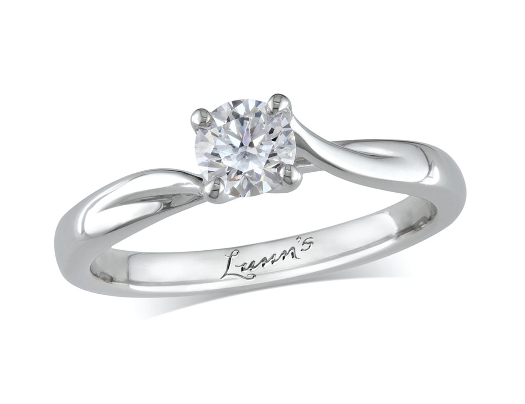 A 0.40ct, Brilliant, G, Single stone diamond ring. You can buy online or reserve online and view in store at , Londonderry