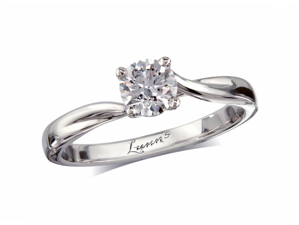ring diamond solitaire setting engagement bezel full product rings princess
