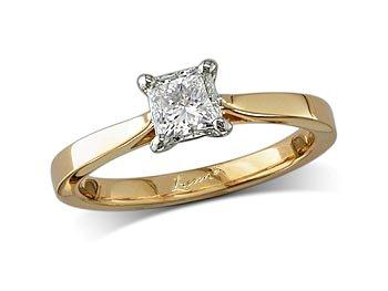 Princess e single stone diamond ring queens for Lindenwold fine jewelers jewelry showroom price